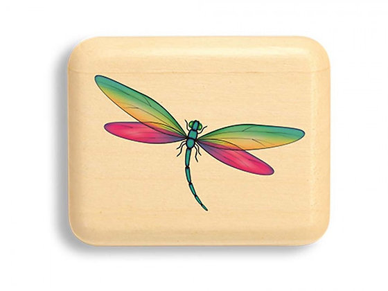 Heartwood Green & Pink Dragonfly Color Art Box