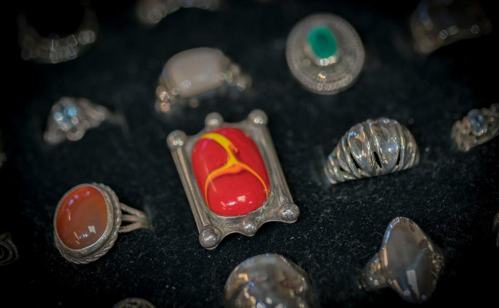 Havasu Coin Silver Rings