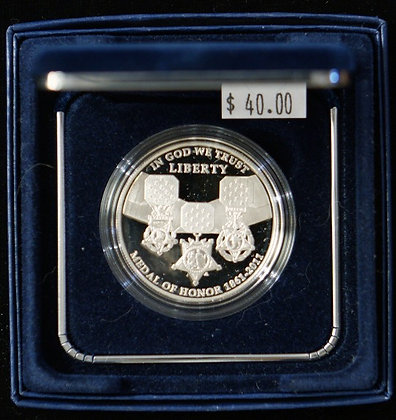 2011 Medal of Honor Proof Silver $1
