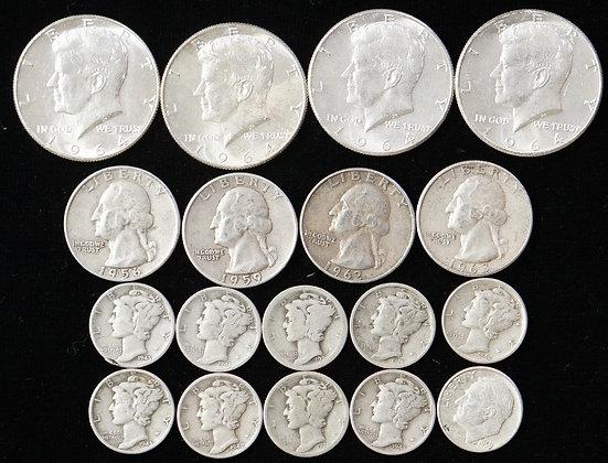 US Coins Pre-64 90% Silver Deal