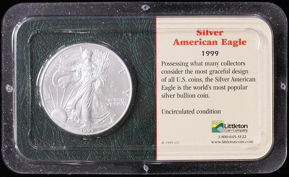 1999 Silver American Eagle