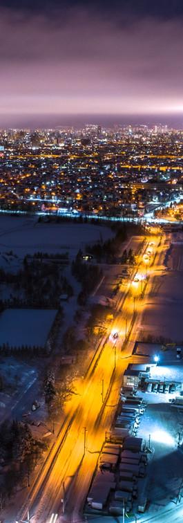 さっぽろ冬夜景