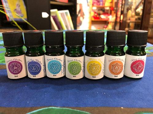 Chakra Essential Oil Blends 5ml