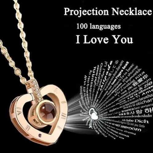 Heart Projection Necklace