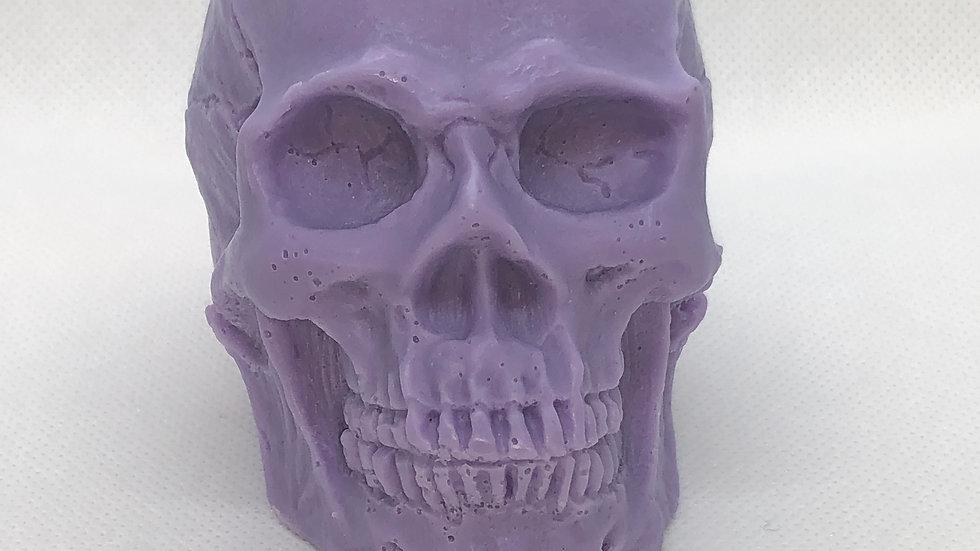 Skull Soap w/embedded Auralite23