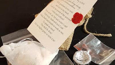 Spell #5 Walk Your Talk - Sacred Bath Tea
