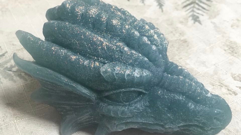 Dragon Hemp Oil Soap Wintergreen and Lavender 215grams