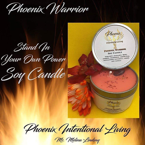 Phoenix Warrior - Stand in Your Own Power Soy Candle