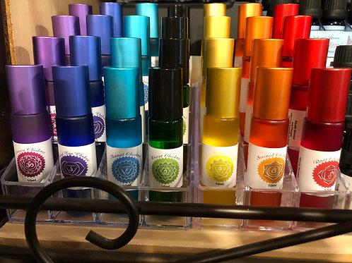 Chakra Essential Oil Blends 10ml Rollerball