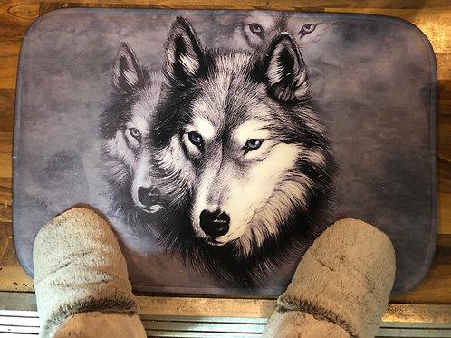 Wolf Welcome Mat