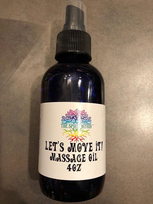Let's Move It Massage Oil 4oz