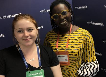 #InterviewSeries @ WebSummit   Mariéme Jamme