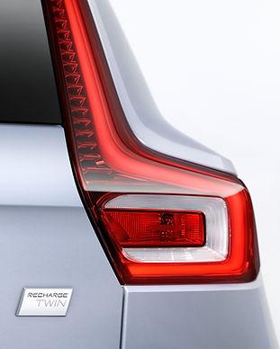 Volvo XC40 Recharge Badge
