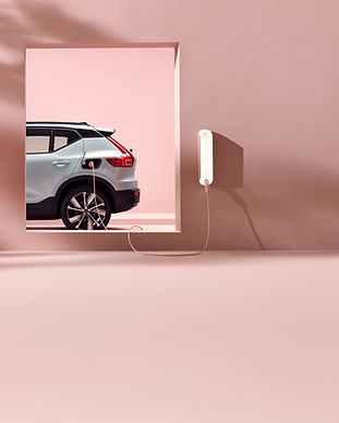 Volvo XC40 Recharge and Wall Box