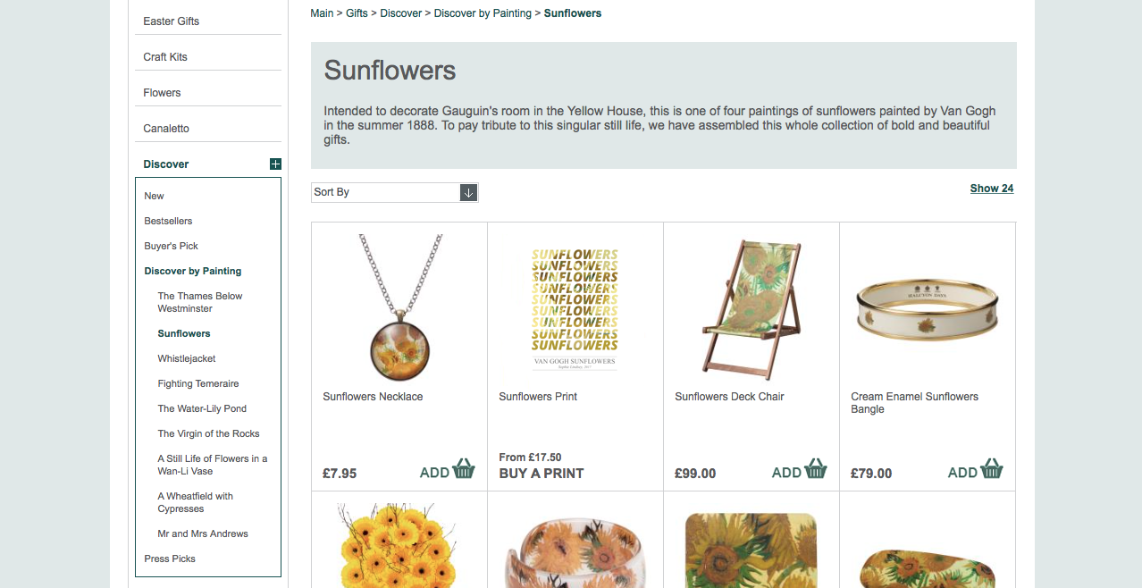The Sunflowers Print