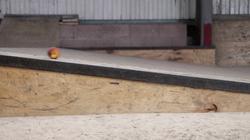 Peach in a Skatepark