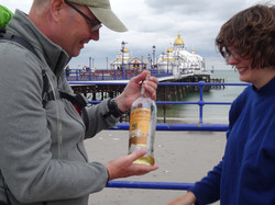 Walk Measured by a Bottle of Whisky