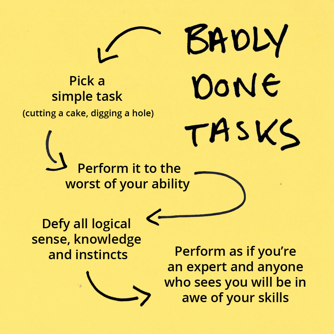 Badly Done Tasks