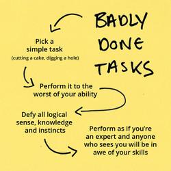 Badly Done Tasks