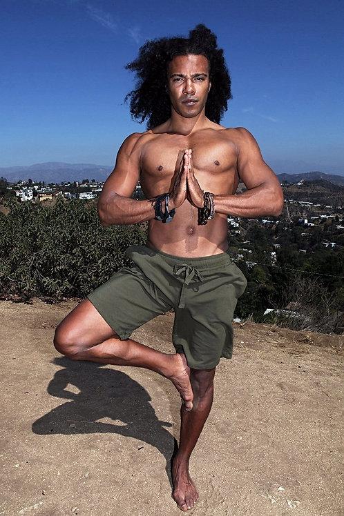 Men's Yoga Ninja Shorts Organic Eco-Friendly
