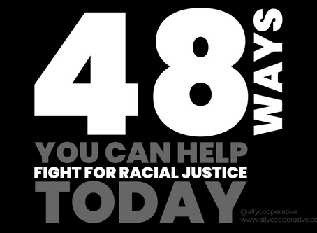 48 WAYS YOU CAN HELP TODAY!