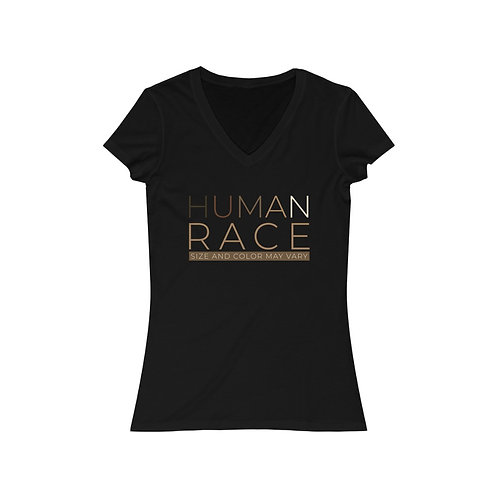 Colors of Humanity Women's V-Neck Tee