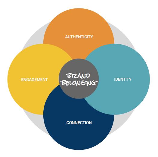 Rudiment Solutions, brand belonging diagram.