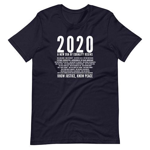 2020 is Change Gender Inclusive T-shirt