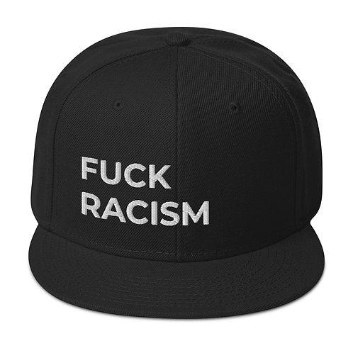 F*CK RACISM Snapback Hat