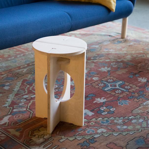 circle stool