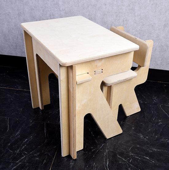 Kids2D3D Natural Birch Desk