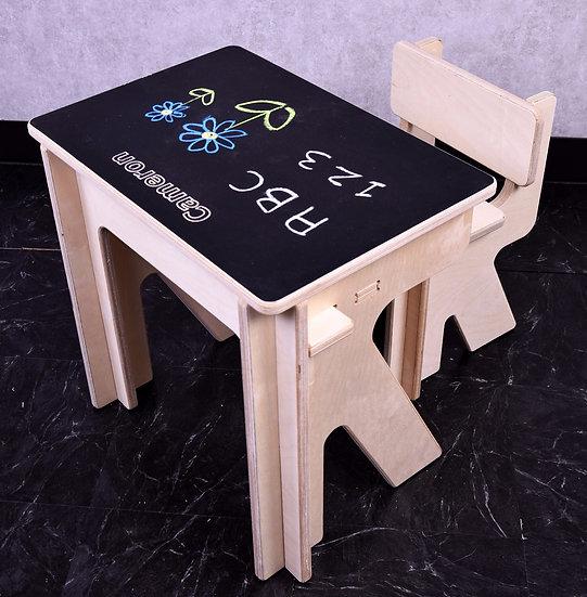Kids2D3D Chalkboard Desk