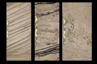 sandstone core lithofacies