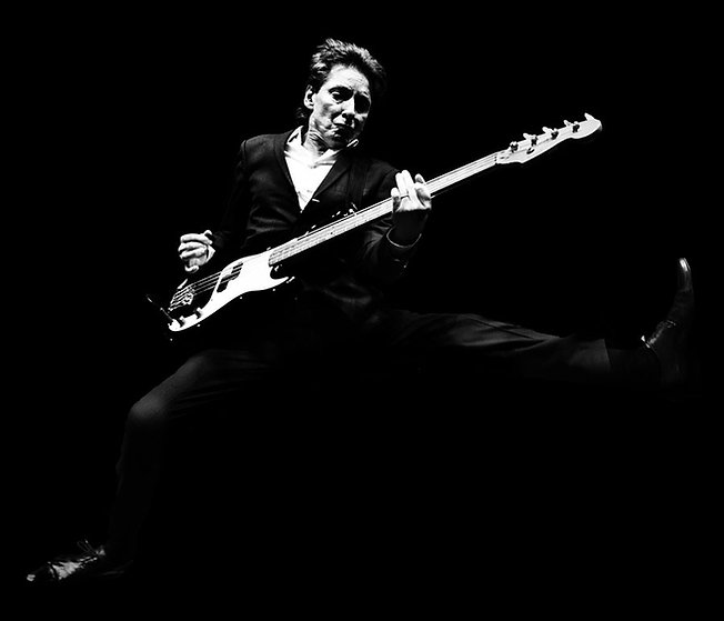 Bruce Foxton, From The Jam Official