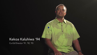 Kamehameha Schools Song contest _Conduct