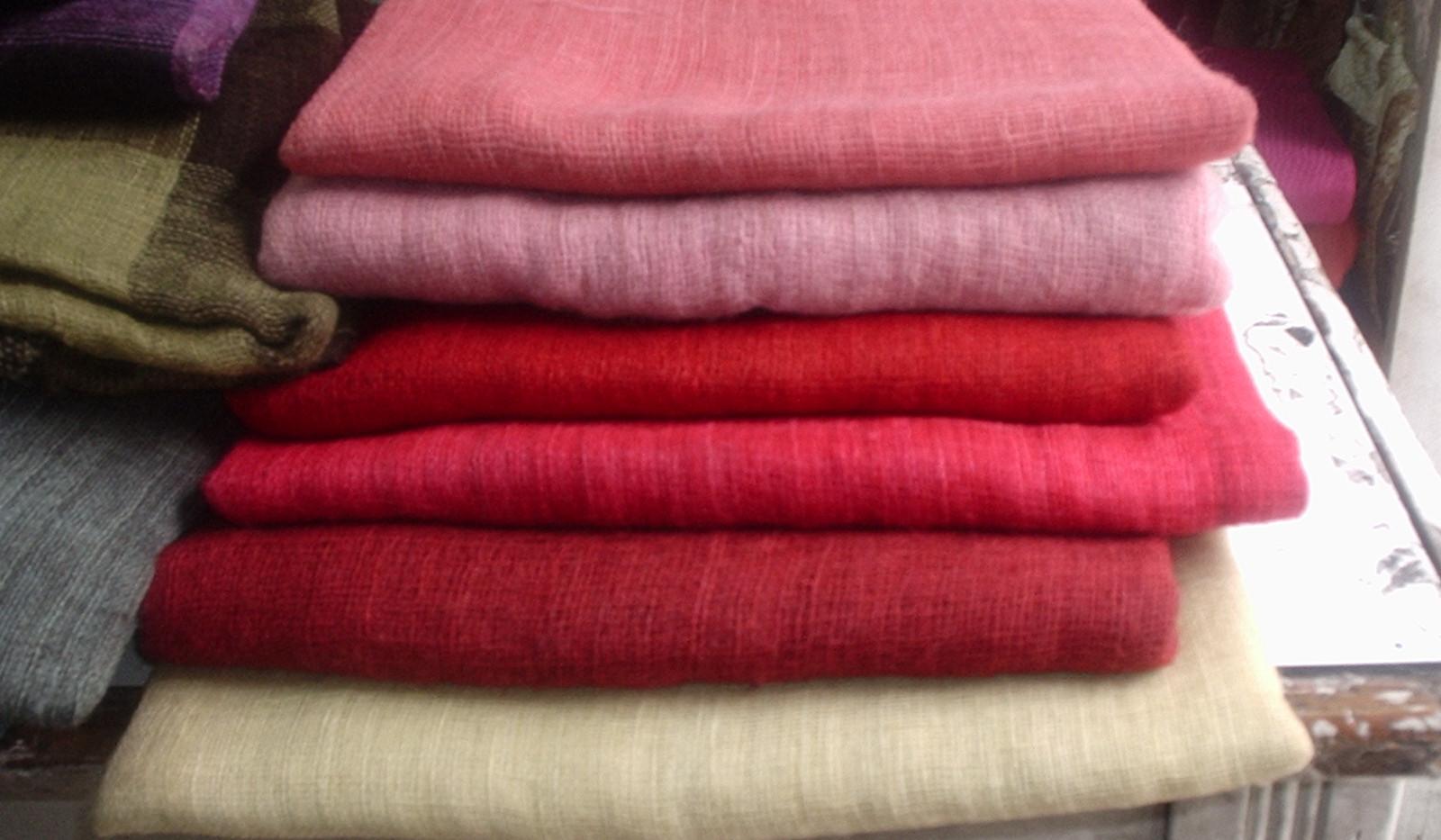 Gekochte stof voor CosmoQueel sjalen