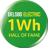 Delsbo Electric 1 Wh Hall of Fame