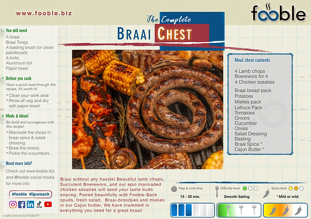 FB7 - Fooble Complete Braai Chest 090620