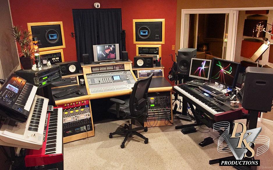 DKS Productions studio control room