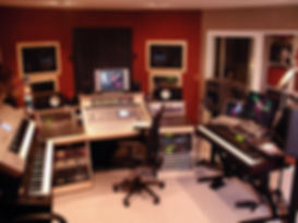DKS Productions, Studio control room