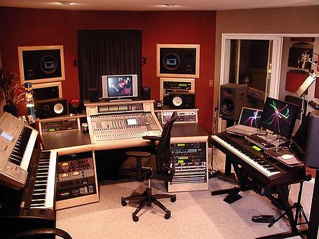 DKS Productions, Studio control room