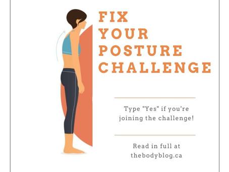 Fix Your Posture Challenge #1