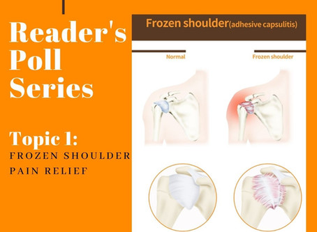 Reader's Poll Series Topic 1: Frozen Shoulder Pain Relief
