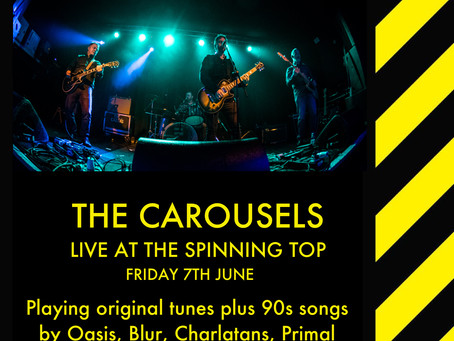 Spinning Top gig cancelled