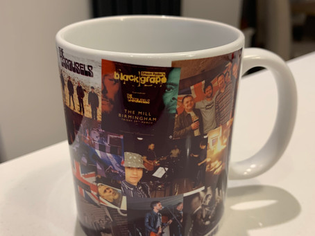 New band mug..to celebrate 4 years of The Carousels