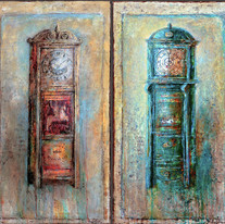 """Time and Memory No.2 (48""""x48"""")"""