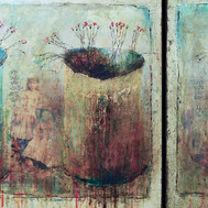 """Old Photo No.3 (30""""x64"""")"""