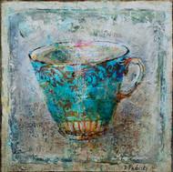 """Tea Cup No.2 (24""""x24"""")"""