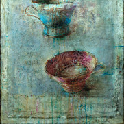 "Tea Cups No.3 (48""x40"")"