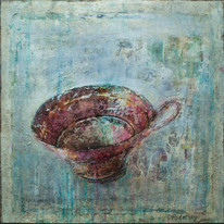 "My Cup (30""x30"")"